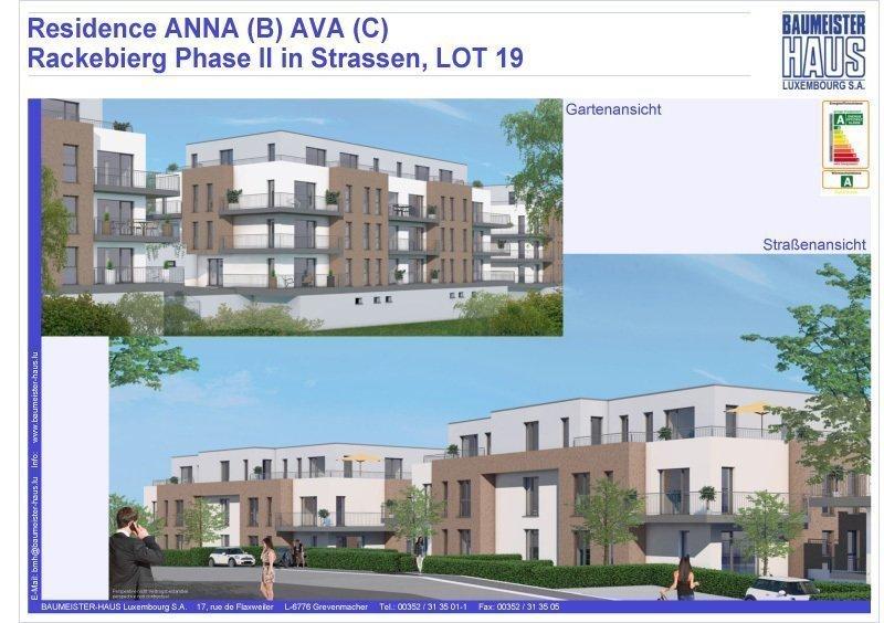 acheter appartement 2 chambres 124.06 m² strassen photo 1