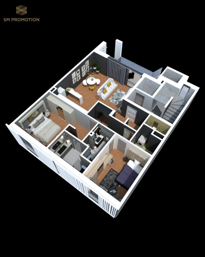 apartment for buy 2 bedrooms 92.26 m² luxembourg photo 3