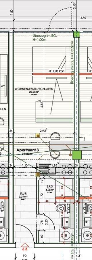 wohnung mieten 1 zimmer 28.32 m² saarbrücken foto 7