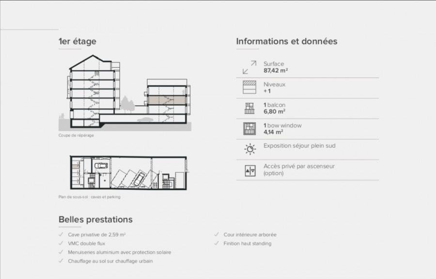 apartment for buy 2 bedrooms 87.42 m² ettelbruck photo 3