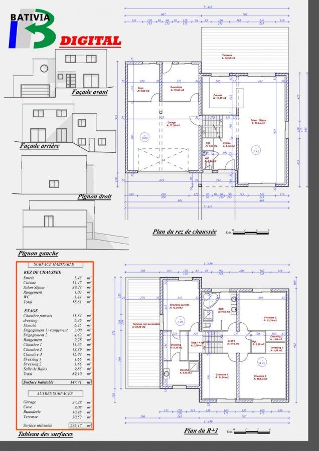 acheter maison individuelle 6 pièces 147 m² terville photo 3