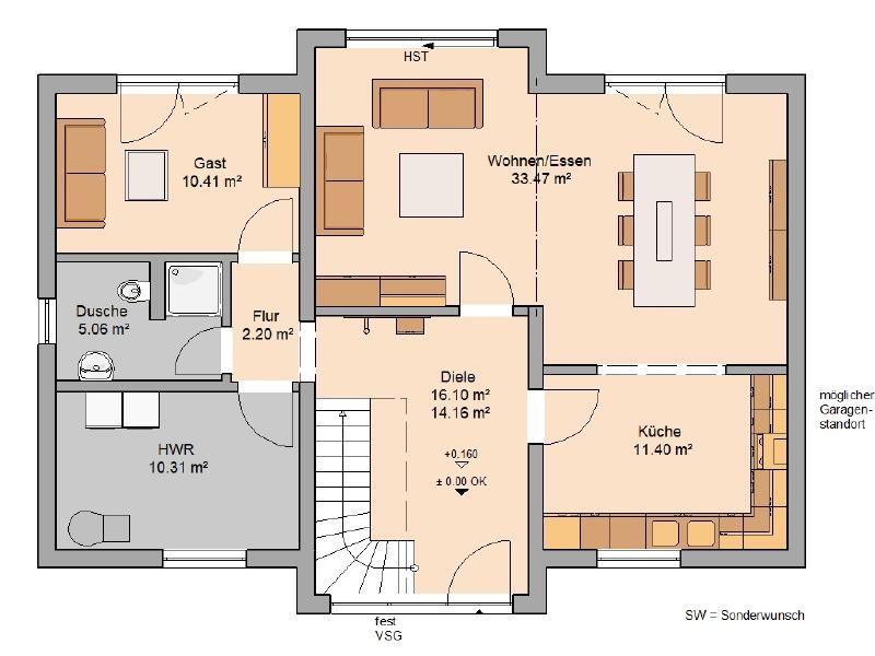 acheter maison 6 pièces 157 m² konz photo 3