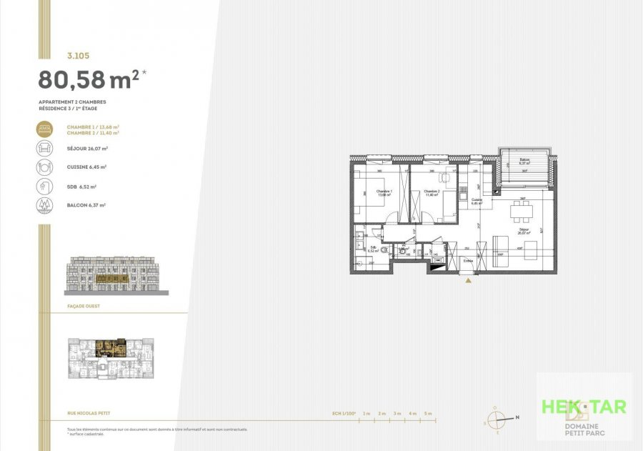 apartment for buy 2 bedrooms 80.58 m² luxembourg photo 7