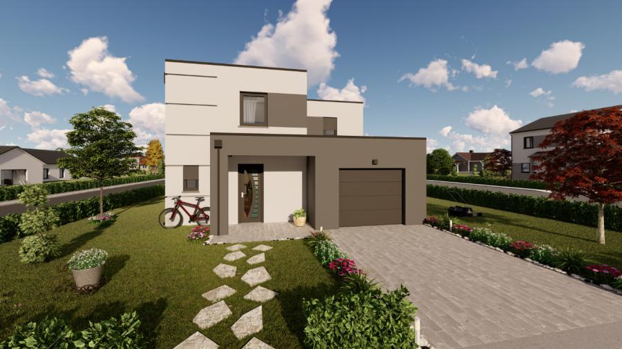 acheter maison individuelle 5 pièces 122 m² apach photo 1
