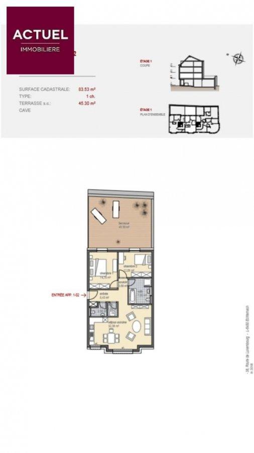 acheter appartement 2 chambres 106.18 m² echternach photo 2