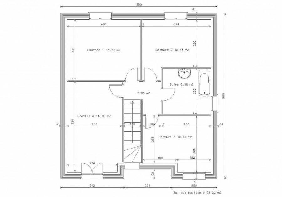 acheter maison 6 pièces 105 m² fontoy photo 3