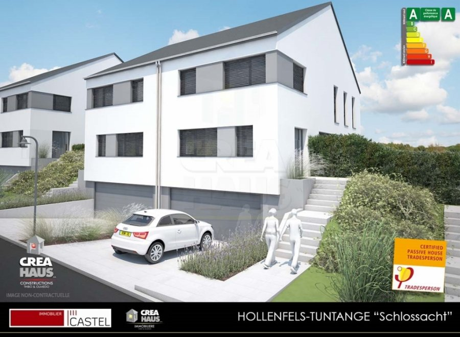 acheter terrain constructible 3 chambres 0 m² tuntange photo 3