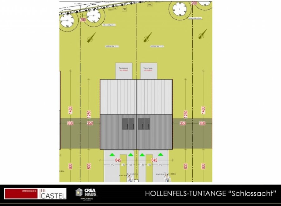 acheter terrain constructible 3 chambres 0 m² tuntange photo 1