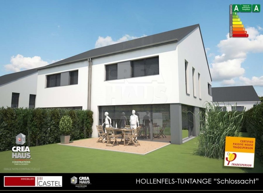 acheter terrain constructible 3 chambres 0 m² tuntange photo 2