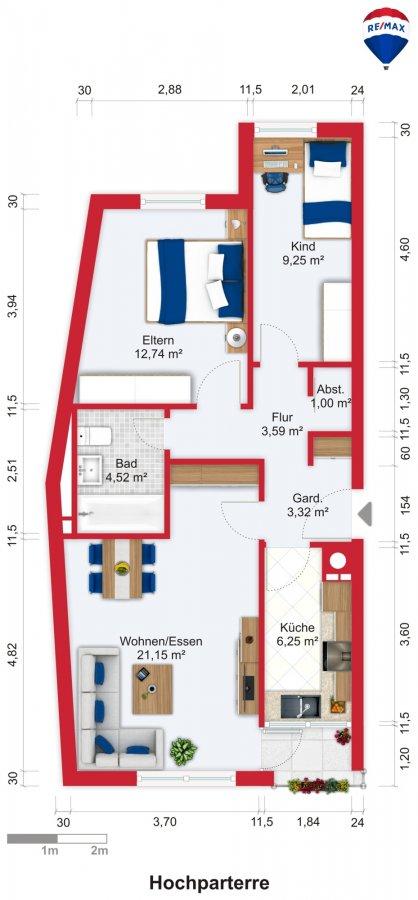 wohnung kaufen 3 zimmer 60.46 m² saarbrücken foto 3