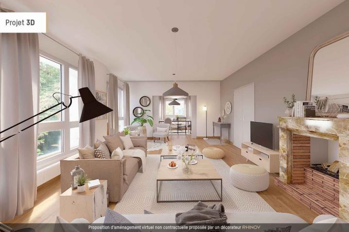 acheter appartement 5 pièces 91.83 m² metz photo 1