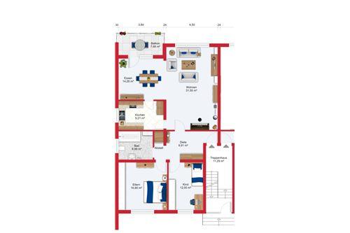 wohnung kaufen 3 zimmer 101 m² nonnweiler foto 2