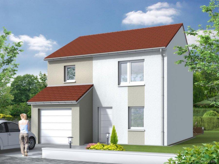 Maison individuelle en vente briey 167 250 immoregion for Vente maison individuelle briey