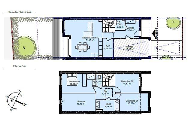 acheter maison individuelle 5 pièces 118.54 m² thionville photo 2