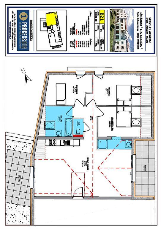 acheter appartement 4 pièces 93.49 m² cattenom photo 1