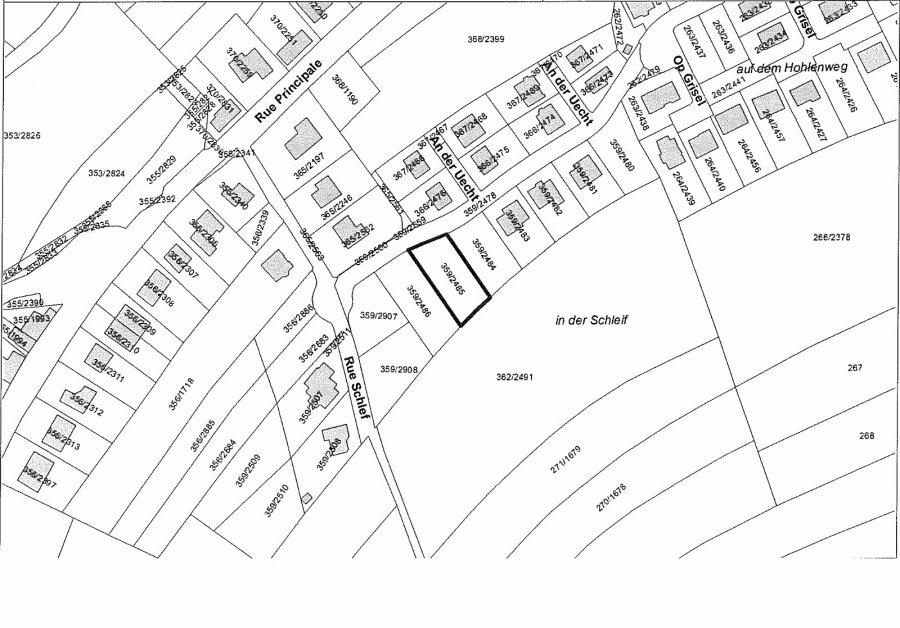 Terrain constructible à vendre à Cruchten