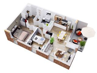 acheter appartement 2 pièces 48 m² comines photo 2