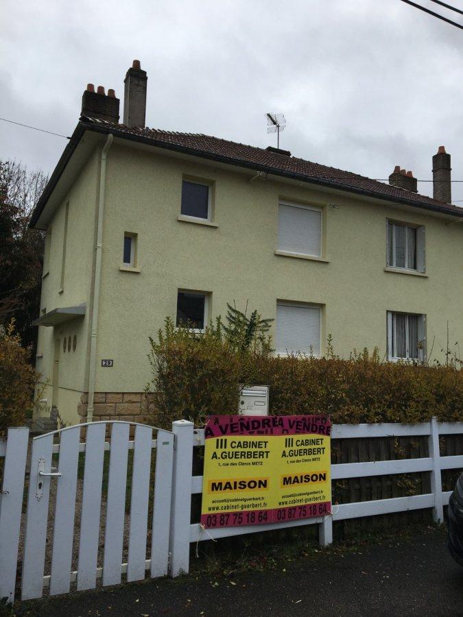 Maison à vendre F5 à Montigny-lès-Metz