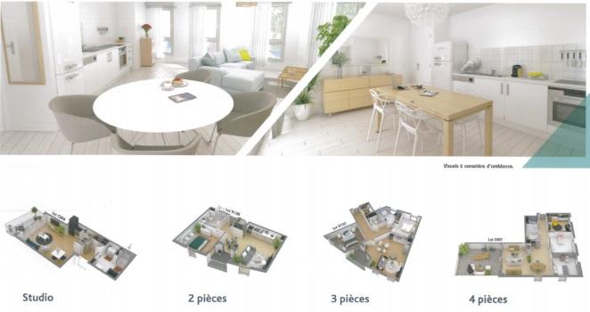 acheter appartement 3 pièces 68.13 m² haubourdin photo 3