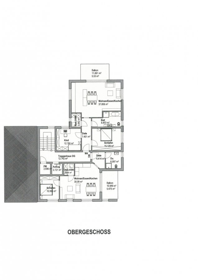 wohnung kaufen 3 zimmer 90.6 m² perl foto 3
