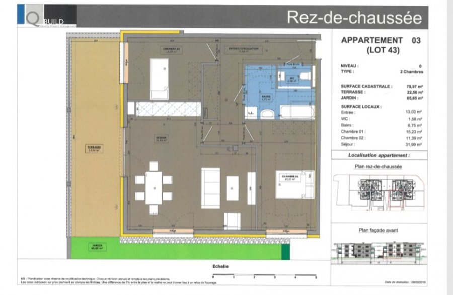 acheter appartement 4 pièces 79.97 m² cosnes-et-romain photo 1