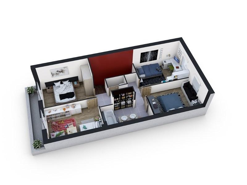 acheter maison 5 pièces 100 m² damelevières photo 3