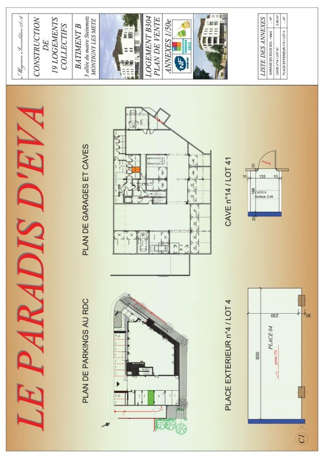acheter appartement 2 pièces 46.24 m² montigny-lès-metz photo 4