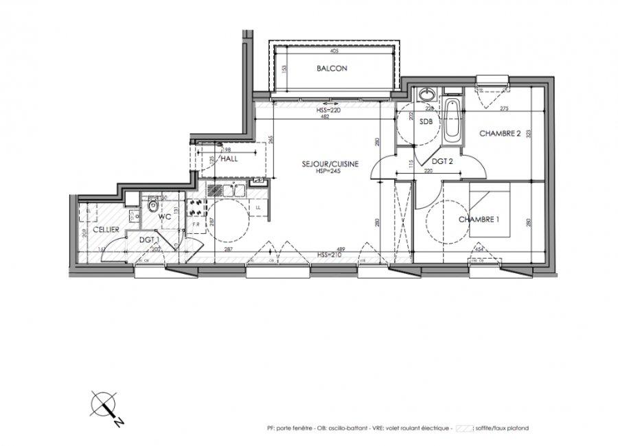acheter appartement 3 pièces 73.3 m² lille photo 2
