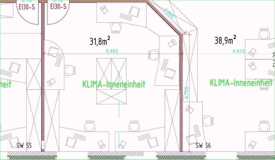 louer bureau 0 chambre 255 m² contern photo 6