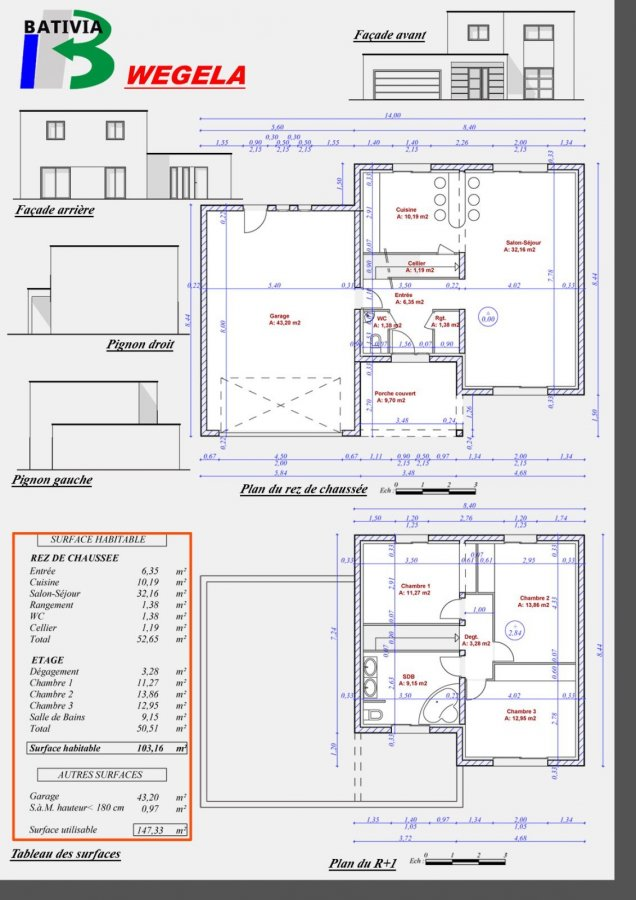 acheter maison individuelle 6 pièces 103 m² terville photo 4