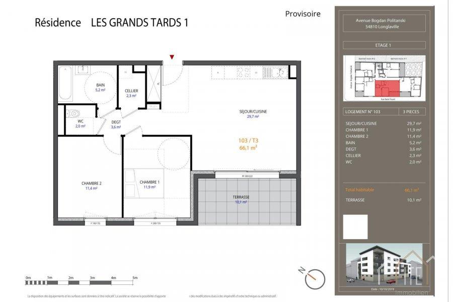 acheter appartement 0 pièce 66.1 m² longlaville photo 1