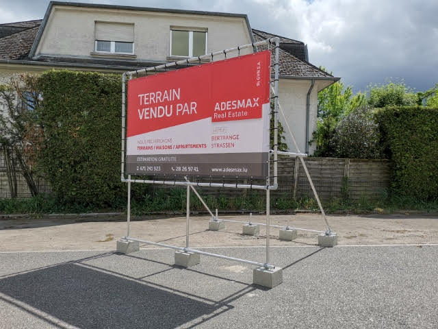 Terrain constructible à vendre à Bertrange