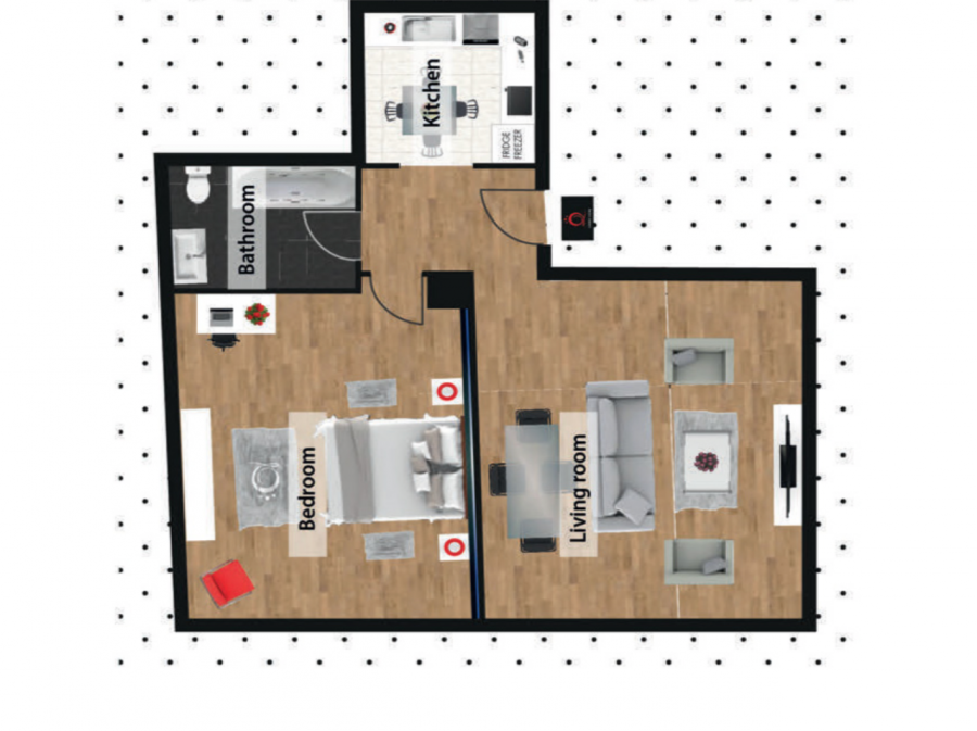 louer appartement 1 chambre 80 m² luxembourg photo 2