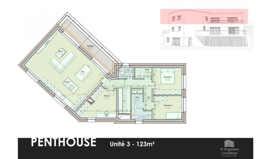 acheter penthouse 2 chambres 123 m² wiltz photo 1