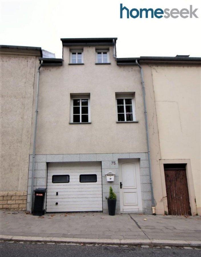 Maison individuelle à vendre 2 chambres à Luxembourg-Bonnevoie