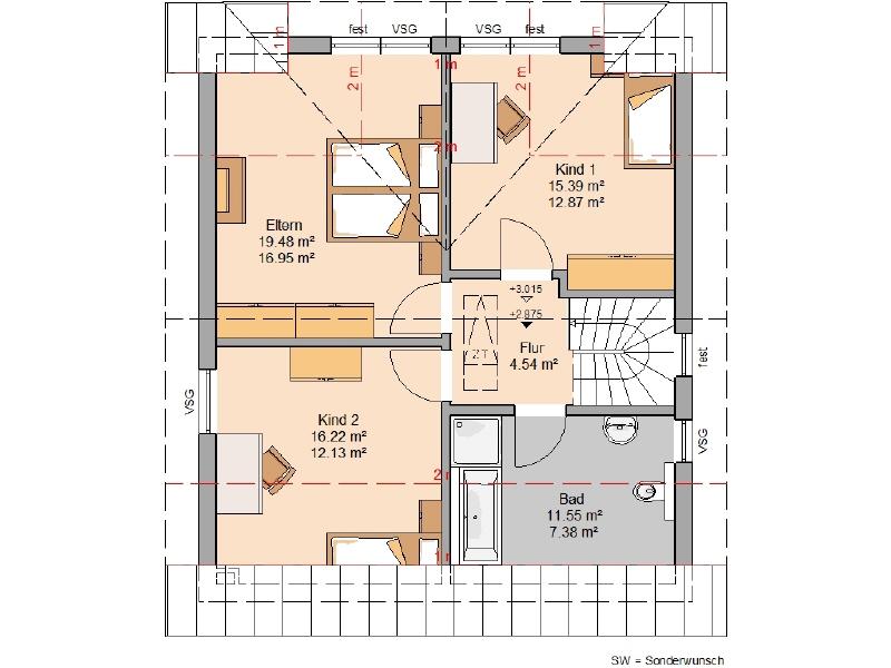 acheter maison 5 pièces 122 m² osburg photo 4