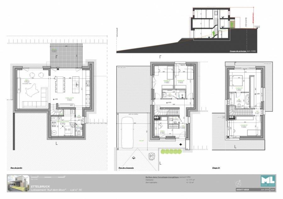 acheter maison individuelle 4 chambres 171 m² ettelbruck photo 3