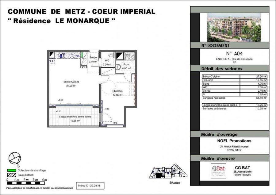 acheter appartement 2 pièces 54 m² metz photo 1