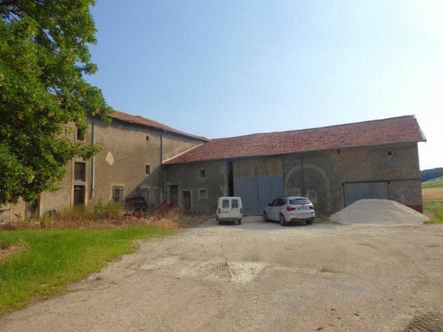 acheter corps de ferme 6 pièces 0 m² chambley-bussières photo 2