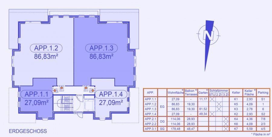 apartment block for buy 0 bedroom 124.74 to 202.21 m² strassen photo 4