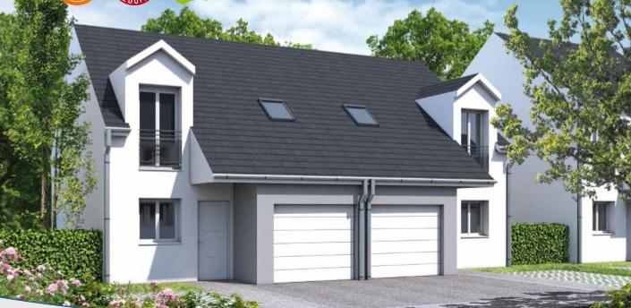 haus kaufen 3 zimmer 66.06 m² courcelles-sur-nied foto 2