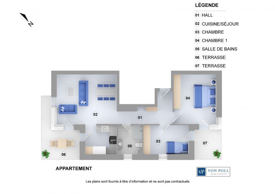 Attractive Wohnung Kaufen 2 Schlafzimmer 72 M² Dudelange Foto 4