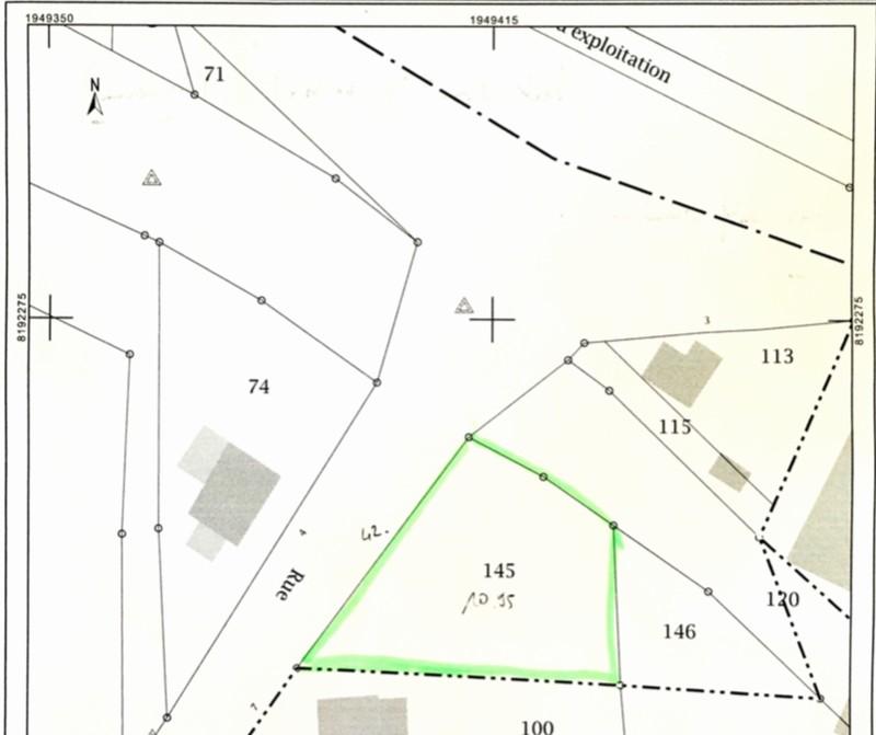 Terrain constructible à vendre à Donjeux