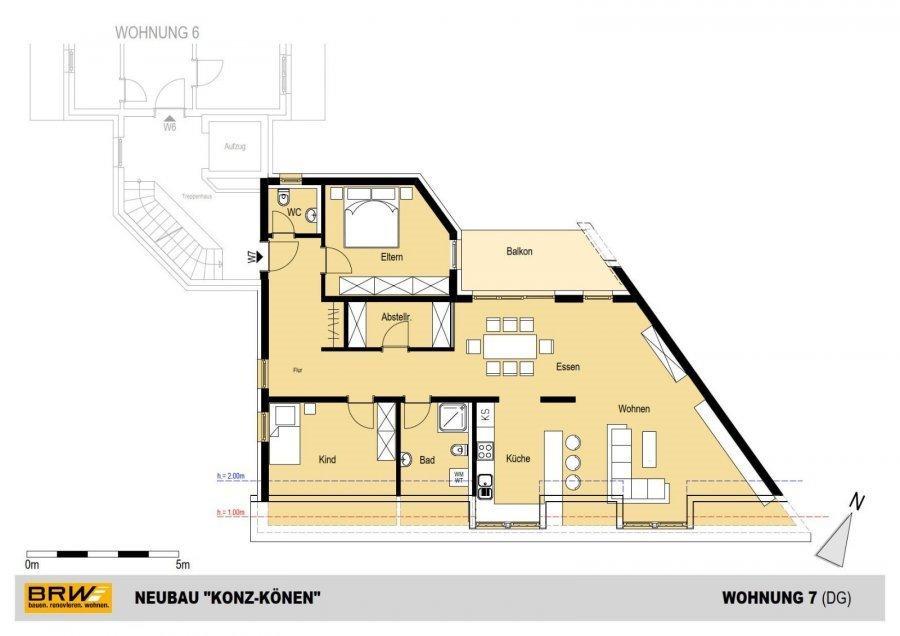 penthouse-wohnung kaufen 0 zimmer 119.19 m² konz foto 1