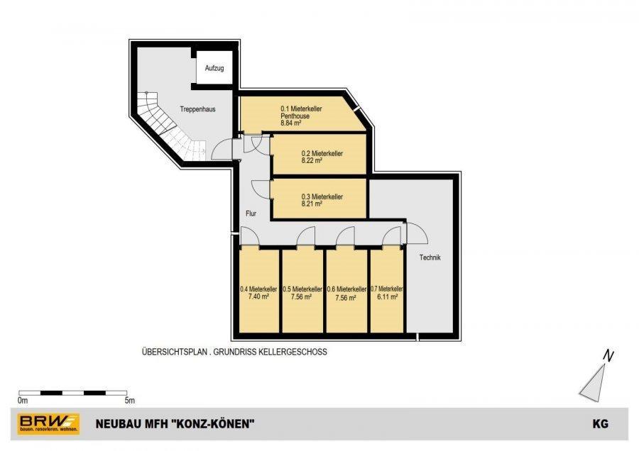 penthouse-wohnung kaufen 0 zimmer 119.19 m² konz foto 4