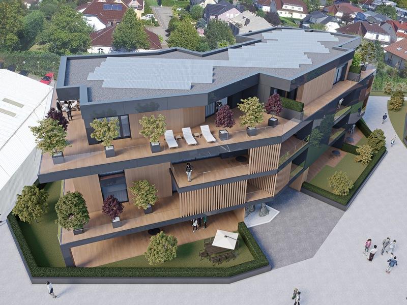 acheter appartement 3 chambres 163.98 m² helmsange photo 1