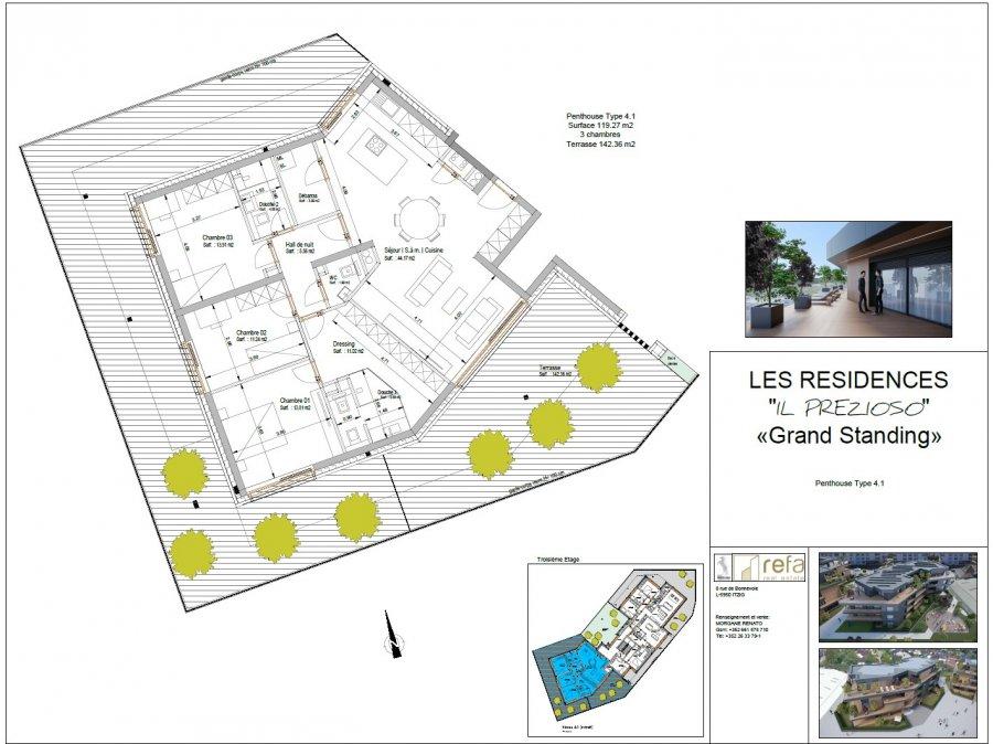 acheter appartement 3 chambres 163.98 m² helmsange photo 4
