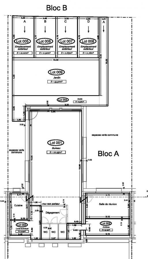 acheter bureau 0 chambre 102 m² weiswampach photo 2
