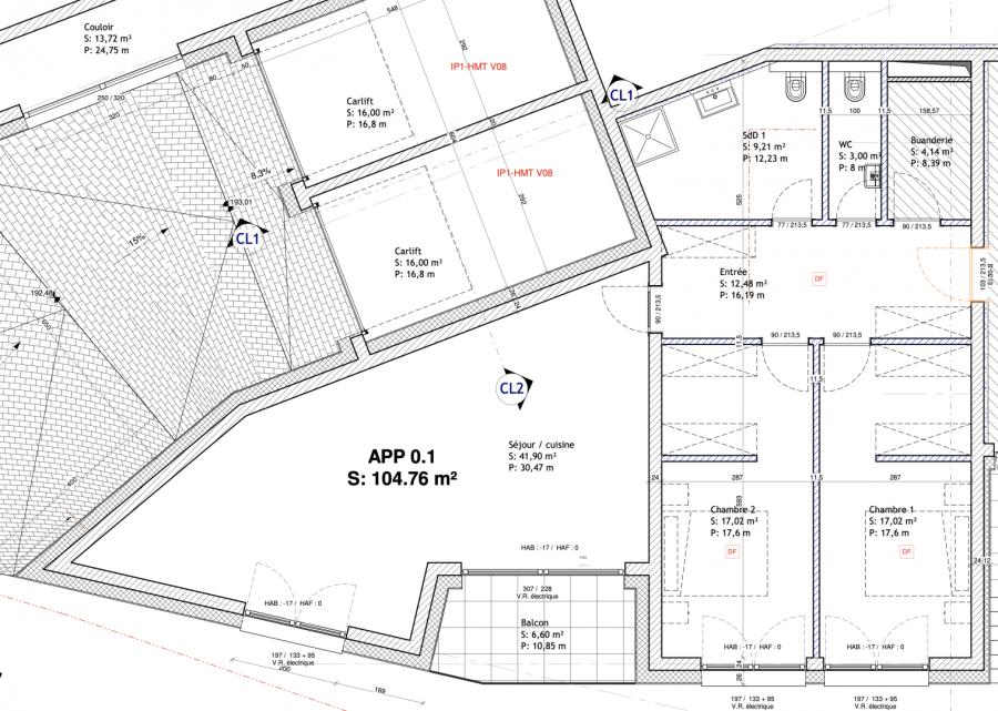 acheter appartement 2 chambres 107.46 m² mondorf-les-bains photo 2