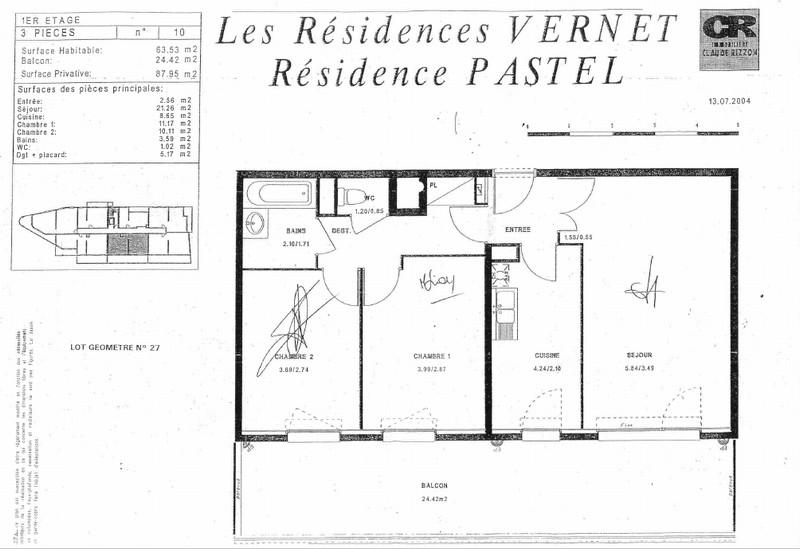 acheter appartement 3 pièces 63 m² metz photo 2